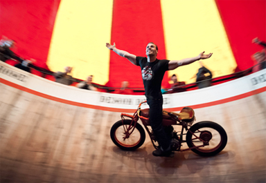 DEMON DROME WALL OF DEATH
